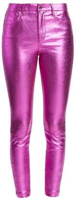RtA Madrid Metallic Leather Pants