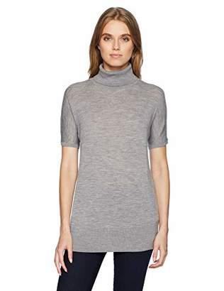 Pendleton Women's Short Sleeve Merino Turtleneck Sweater