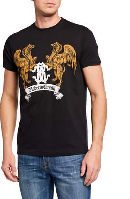 Roberto Cavalli Men's Griffin Graphic T-Shirt