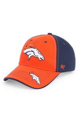 '47 NFL Denver Broncos Revolver Baseball Cap