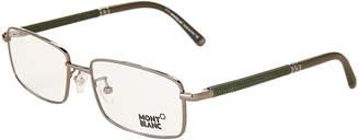Montblanc MB 396 Silver-Tone Rectangular Optical Frames
