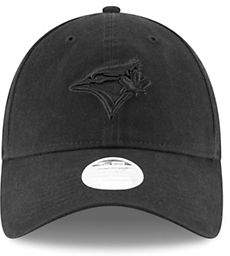 New Era Womens Toronto Blue Jays Preferred Pick 9Twenty Black Logo Cap
