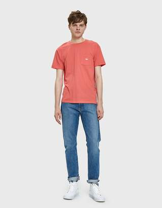 Obey Jumbled Tee in Coral
