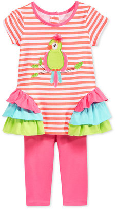 Nannette Toddler Girls' 2-Pc. Bird Tunic & Leggings Set $36 thestylecure.com