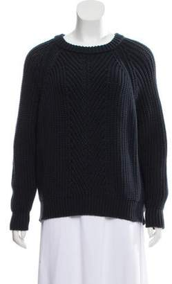 Emporio Armani Heavy Crew Neck Sweater Navy Heavy Crew Neck Sweater
