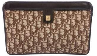 Christian Dior Diorissimo Canvas Clutch