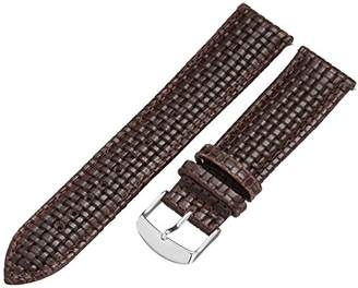 Voguestrap TX51722BN Allstrap 22mm Leather-Synthetic Watch Strap