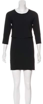 MM6 MAISON MARGIELA Short Sleeve Casual Dress