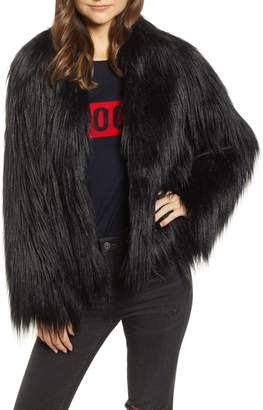 Zadig & Voltaire Fridas Faux Fur Coat