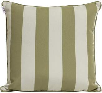 Indo Soul Indosoul Ambon Outdoor Cushion, White/ beige