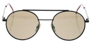Fendi Round Aviator Sunglasses