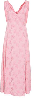 ALEXACHUNG Cutout-Back Sheath Dress