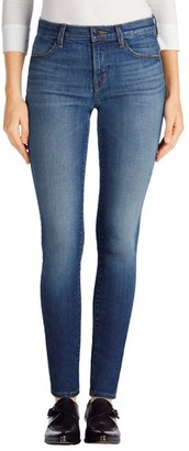 Women's J Brand 620 Mid Rise Super Skinny Jeans $198 thestylecure.com