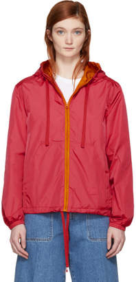 Acne Studios Pink Marwy Face Jacket