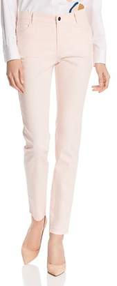 Lafayette 148 New York Mercer Skinny Jeans in Pink
