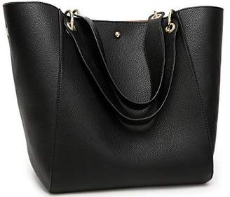 58f60ae1781 at Amazon Canada · Obosoyo Women s Waterproof Handbags Ladies Synthetic Leather  Tote Shoulder Bags Fashion Travelling Mommy Soft Hot Purse