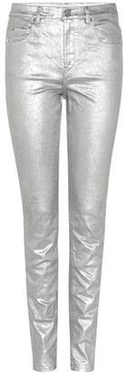 Etoile Isabel Marant Isabel Marant, Étoile Ellos metallic cotton-blend jeans