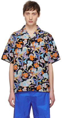 Prada Multicolor Floral Abstract Shirt
