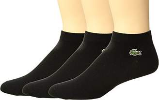 Lacoste Men's 3 Pack Jersey Ped Sock