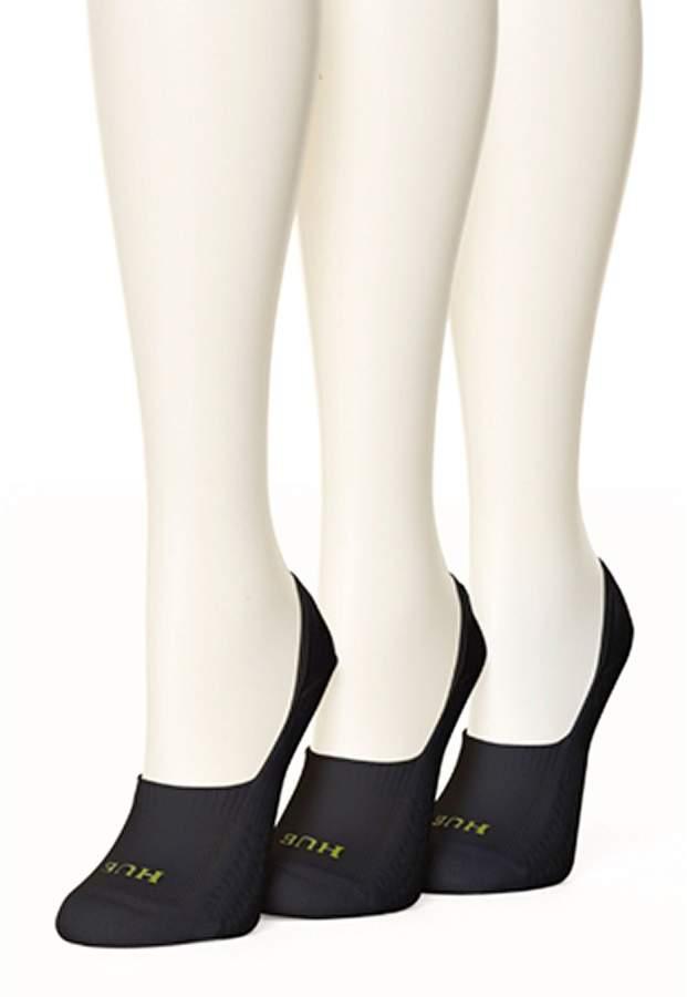 HUE Air Cushion Breathable Liner Socks, 3 Pack