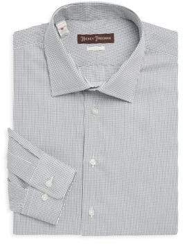 Hickey Freeman Long Sleeve Check Shirt