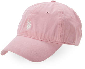 U.S. Polo Assn. Light Pink Logo Baseball Cap