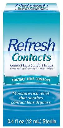 Refresh Contacts® Contact Lens Moisture Drops for Dry Eyes - 0.4 oz $7.19 thestylecure.com