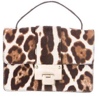 Jimmy ChooJimmy Choo Leopard Rebel Ponyhair Bag