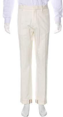 Brunello Cucinelli Flat Front Twill Pants