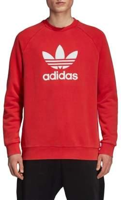 adidas Trefoil Logo Warm-Up Sweatshirt
