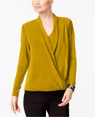 Alfani Surplice Top