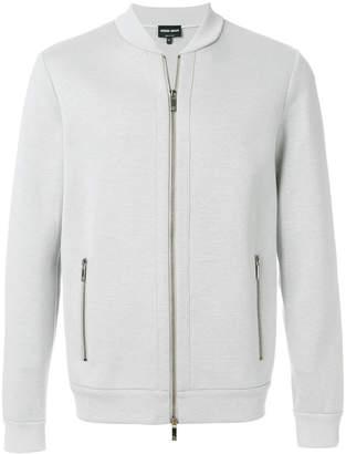 Giorgio Armani slim fit bomber jacket