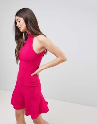 AX Paris Peplum Midi Dress