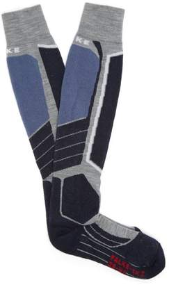 Falke Ess - Sk 2 Ski Socks - Mens - Grey Multi