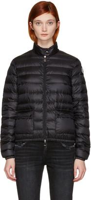 Moncler Black Down Lans Jacket $695 thestylecure.com