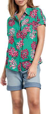 Hush Hortensia Shirt, Hydrangea Jade