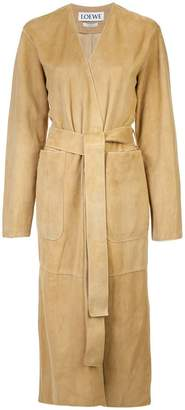 Loewe robe long coat