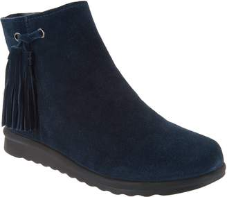 VANELi Suede Ankle Boots with Tassel - Dommie