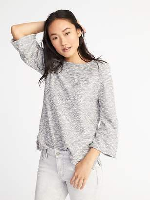 Old Navy Textured Bouclé-Knit Top for Women