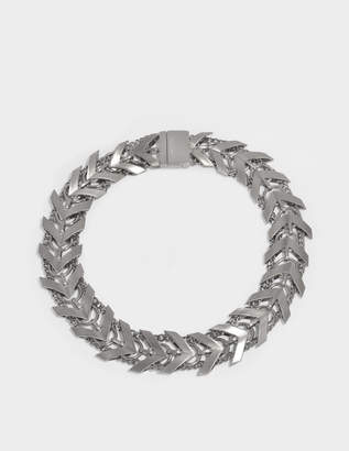 Roberto Cavalli Aella Necklace in Silver