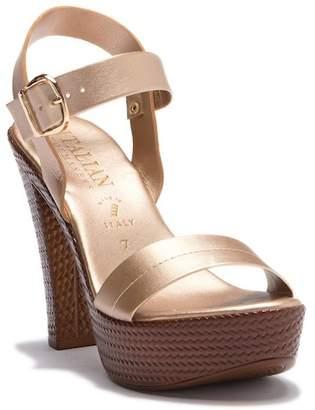 Italian Shoemakers Ariela Block Heel Sandal