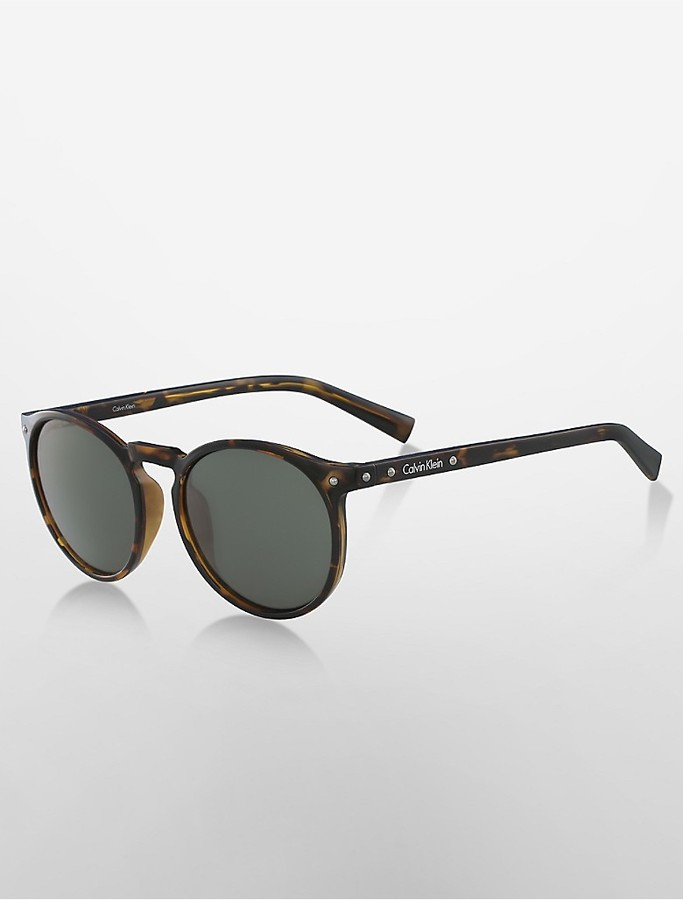 Calvin KleinRound Sunglasses