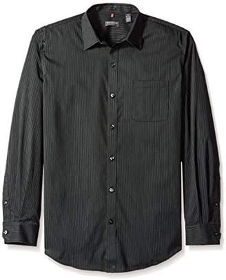Van Heusen Men's Traveler Slim Stretch Long Sleeve Shirt