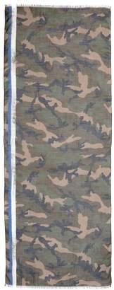 Valentino Camouflage Cashmere-blend Scarf
