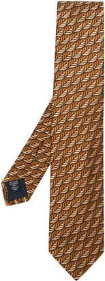 Ermenegildo Zegna printed styled tie