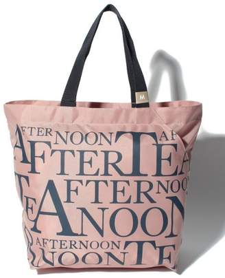 Afternoon Tea (アフタヌーン ティー) - Afternoon Tea LIVING スリットポケット付きロゴバッグM