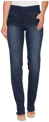 Jag Jeans Peri Pull-On Straight in Anchor Blue Women's Jeans