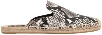 Tory Burch 20mm Max Leather Mule Espadrilles