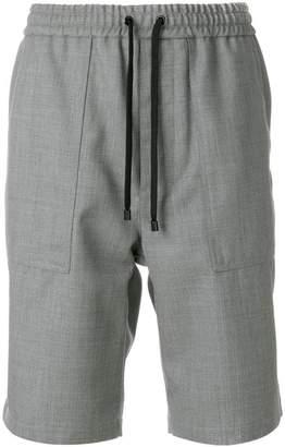 Ami Alexandre Mattiussi elasticated waist Bermuda short