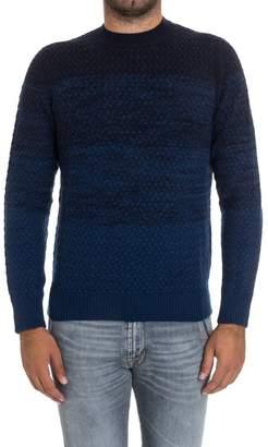 Drumohr Round Neck Wool And Cashmere